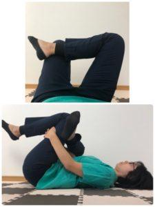 寝ながらできる腰痛ストレッチ2