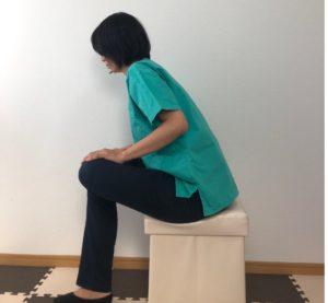 腰痛のストレッチ、お尻