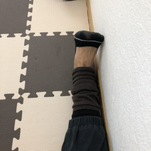 足首捻挫のリハビリ、腓骨筋