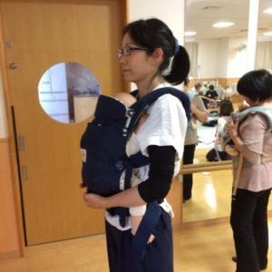 育児中の腰痛予防の抱っこ紐、正しい使い方