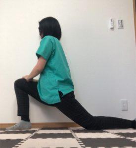 膝の前が痛い時のストレッチ